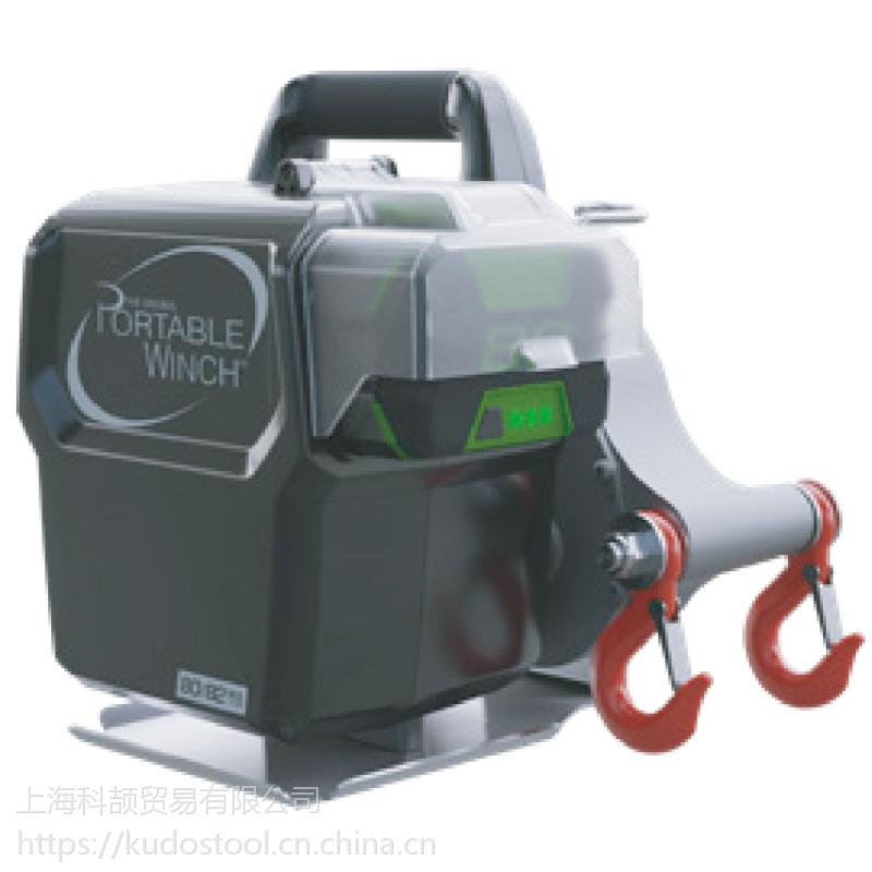 加拿大倍力拉充电式绞磨机PCW3000-LI,小型手提式拉树绞磨机