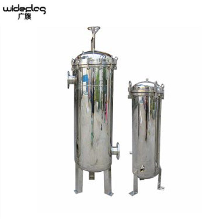 大量出售 陕西304/316不锈钢工业前置预处理布袋式过滤器大流量高精度可定制脉德净