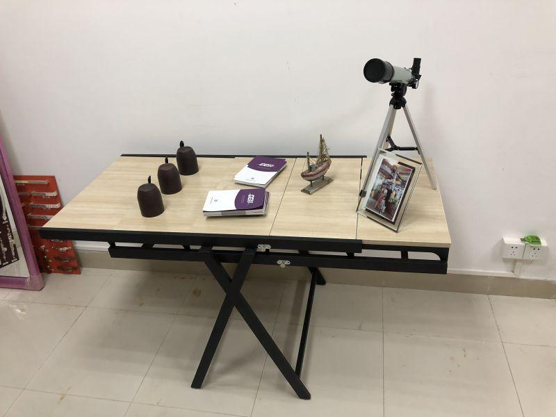 旋转桌,多用折叠餐桌 变形置物架,层架