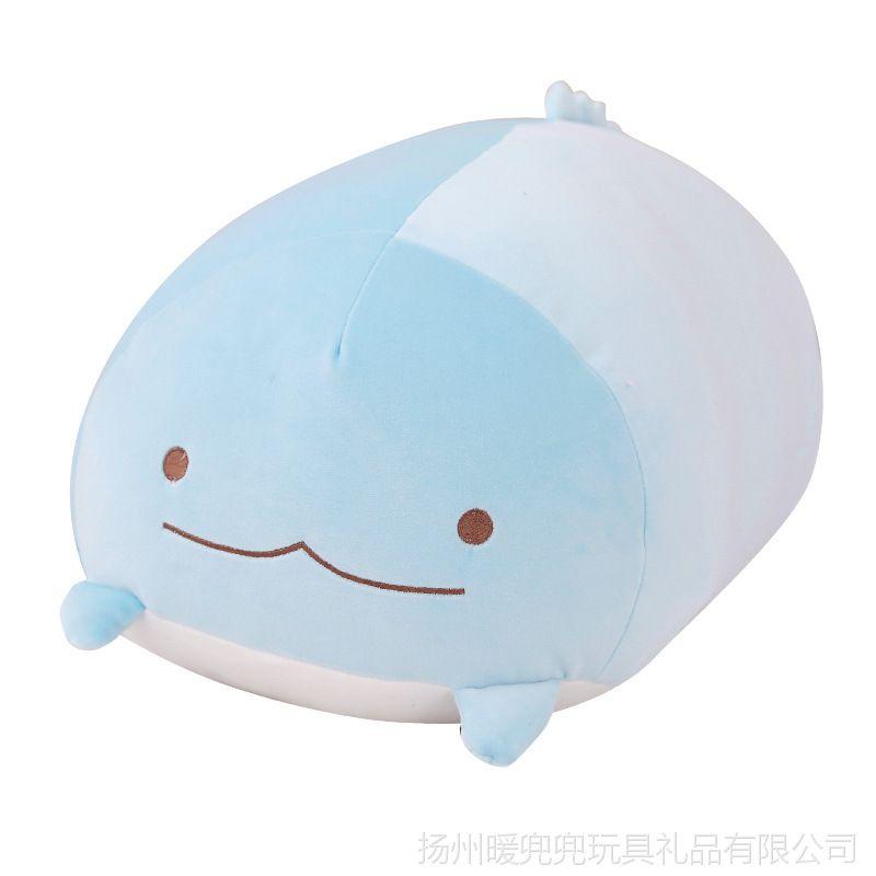 【韩国角落图片公仔抱枕毛绒玩具抱着睡觉的娃动态舌表情包吐生物图片