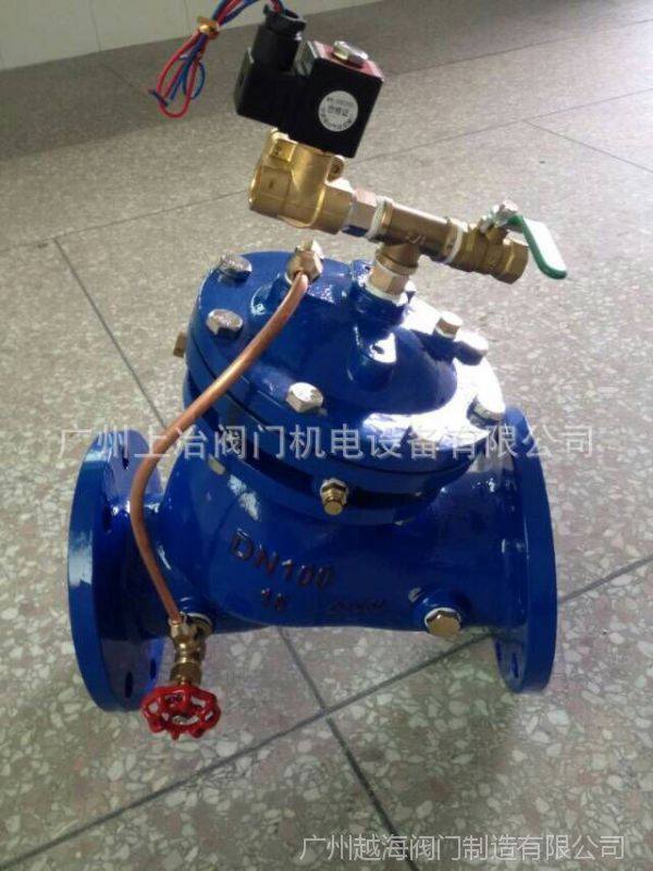 微�y��yb>[�X_600x水力电动控阀由主阀,电磁导阀,针阀,球阀,微形过滤器和压力表