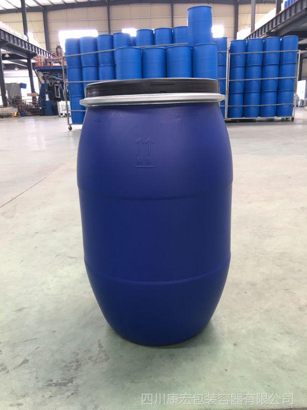哪里可以买到四川成都125L塑料桶、开口桶、抱箍桶、化工桶,四川康宏包装就有6.4kg