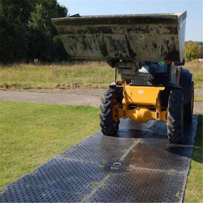 防尘防滑地面保护铺路板 hdpe聚乙烯临时路板 厂家直销