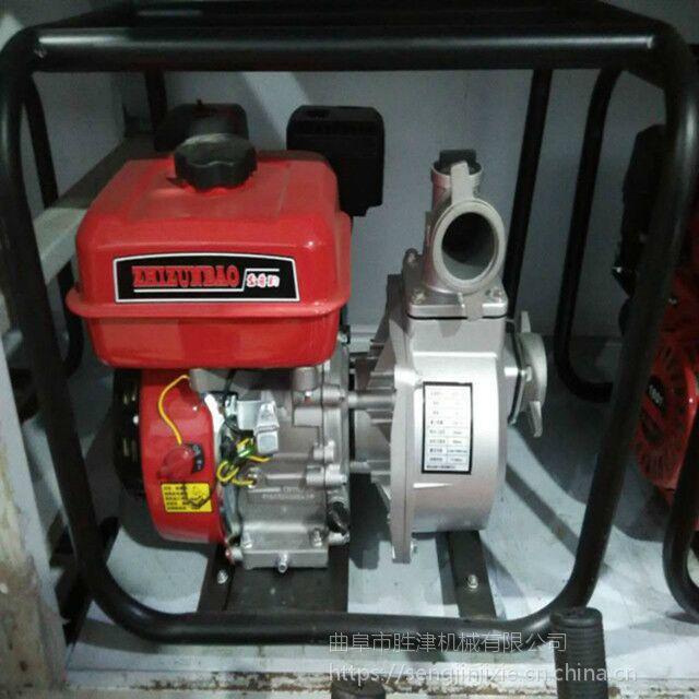 深井三寸框架压井泵 洪水排涝自吸泵 农用柴油电启抽水泵