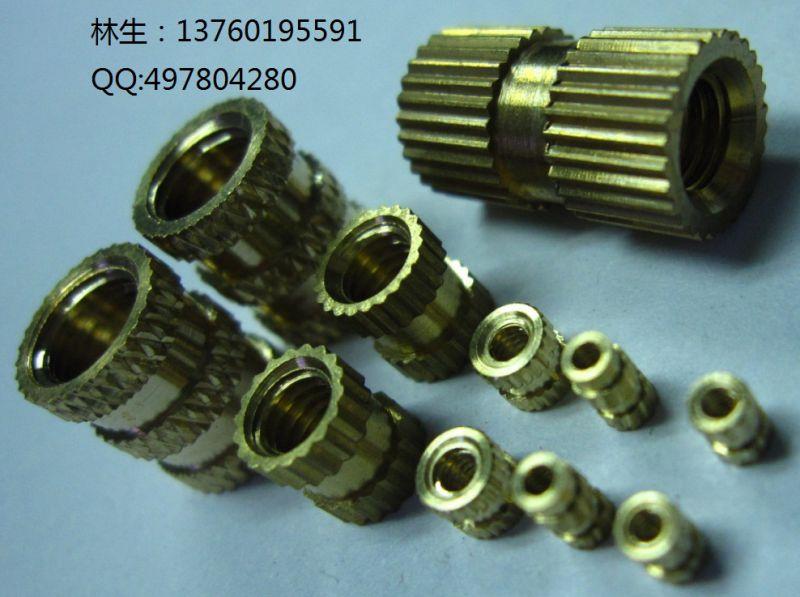 M1.4铜螺母热熔螺母铜嵌件