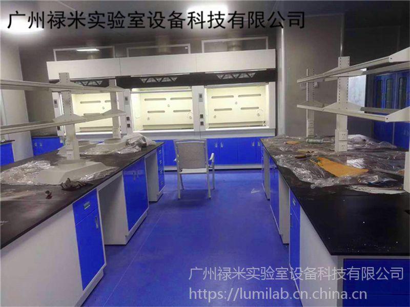 厂家直销实芯理化板台面钢木实验台