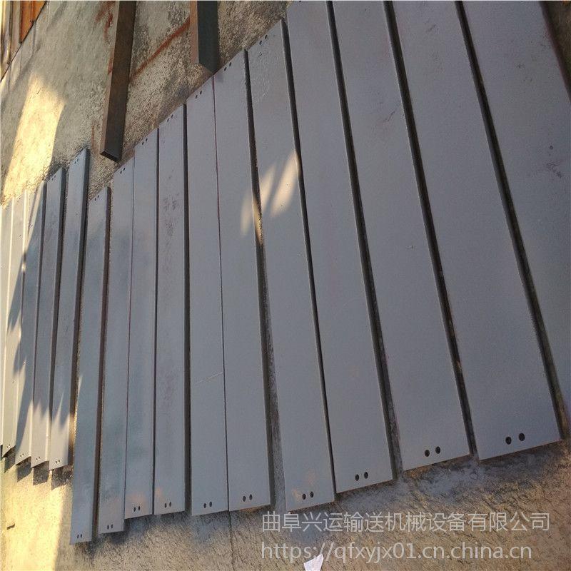 珠面链板输送机厂家耐磨 耐腐蚀链板输送机鄂尔