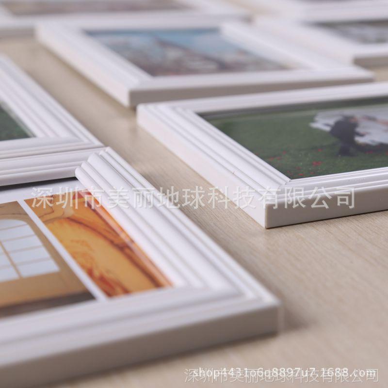 宝宝照片墙欧式画框中式复古相框摆台6寸7寸8寸10寸老式挂墙创意