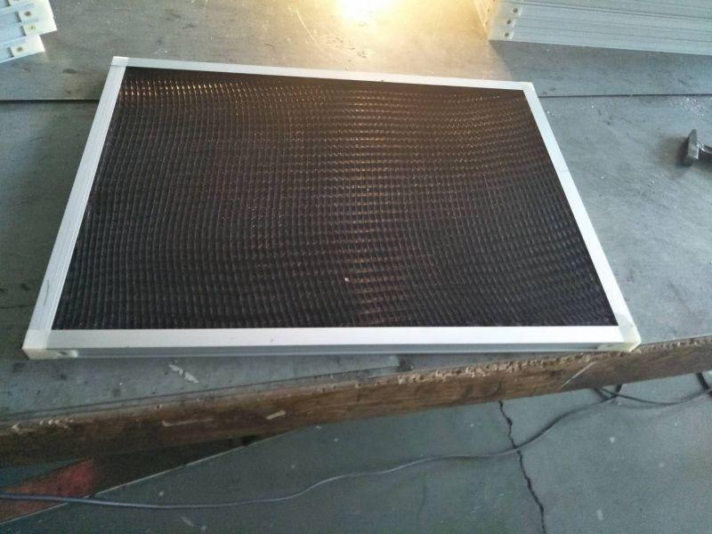 初效黑色尼龙网空气过滤器