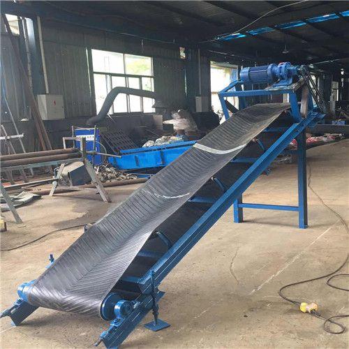 营口优质皮带输送机加工厂 防爆电机固定式输送机