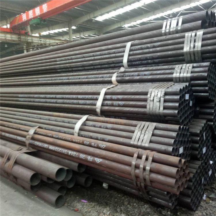 山东浩启达货场热轧无缝钢管