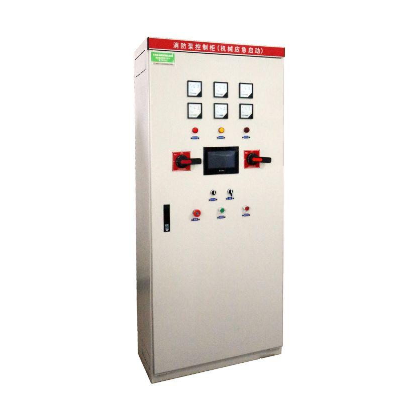 消防泵控制柜稳压泵消火栓泵喷淋泵控制柜一用一备带机械应急启动