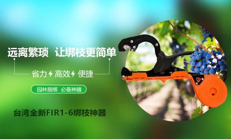台湾全新款FIR1-6绑枝机葡萄绑枝器西红柿绑蔓枪绑蔓器