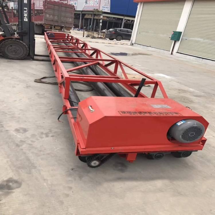 混凝土三辊轴摊铺机摊平机振动梁三滚轴整平机铺路机3-13米定制