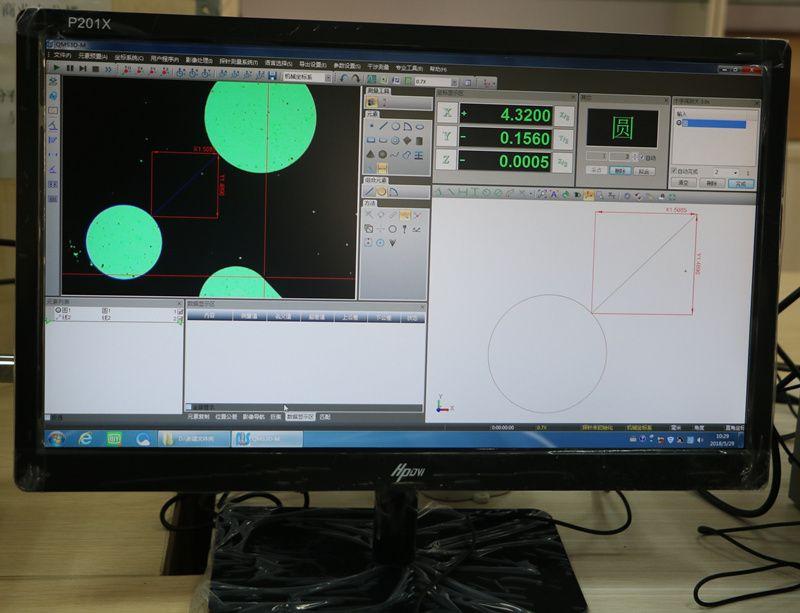 江西万濠VMS-1510G手动影像仪二次元影像仪操作视频