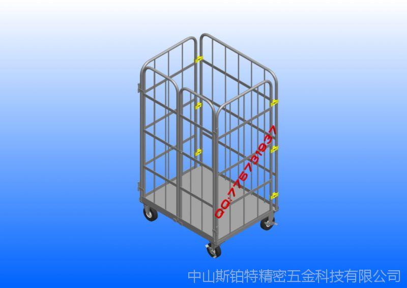 折叠笼、折叠物流台车、折叠台车