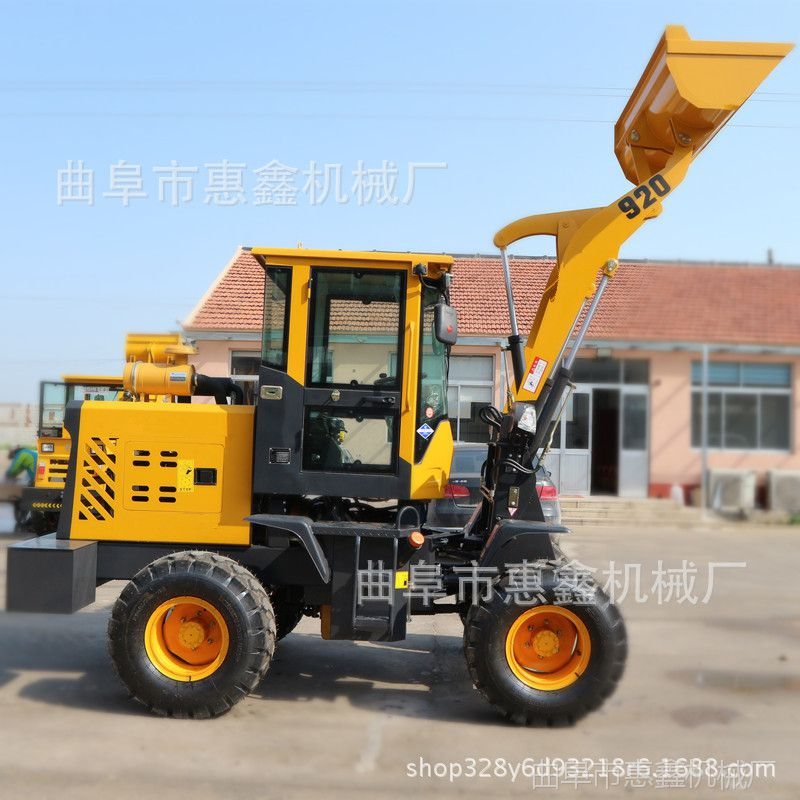 丽水农用电启动柴油装载机 高效节能的多功能轮式小铲车