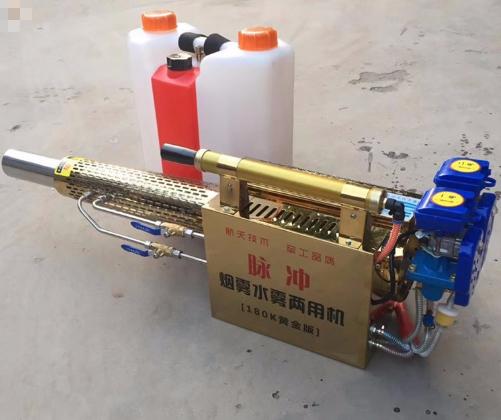 果树大棚免维护打药机 弥雾机一键启动独立水冷