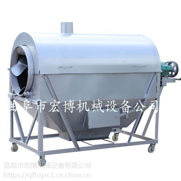 封闭式花生炒锅 花生瓜子炒熟机 小型坚果炒货机