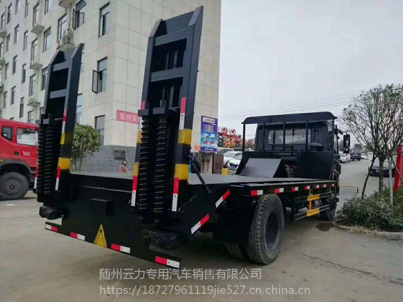 一拖单桥平板运输车可拉150-200挖机价格 可分期 LT5180TPBABC0 1.8L 多大吨位