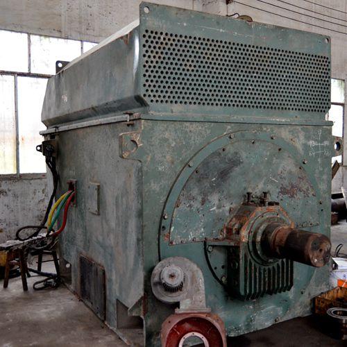 重庆修理Z560-4B 728kW直流电动机