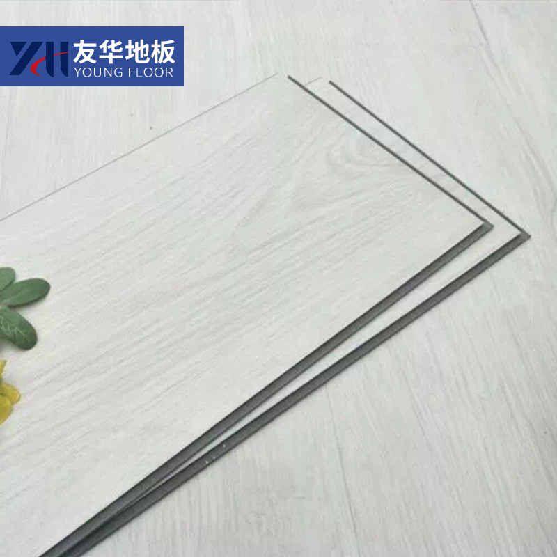 锁扣地板工厂生产石纹锁扣地板