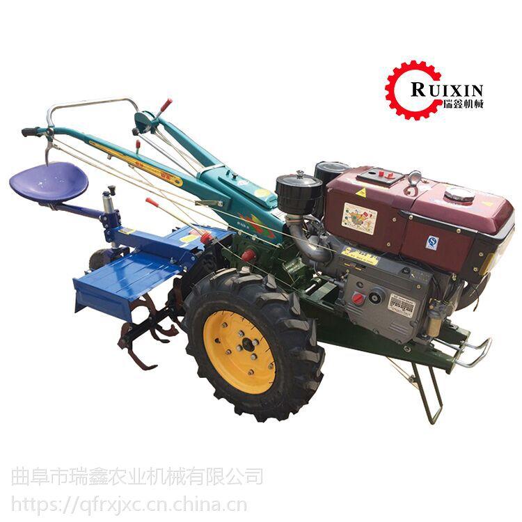 高效率农用手扶耕地机 瑞鑫牌山地丘陵柴油微耕机 水冷手扶拖拉机厂家