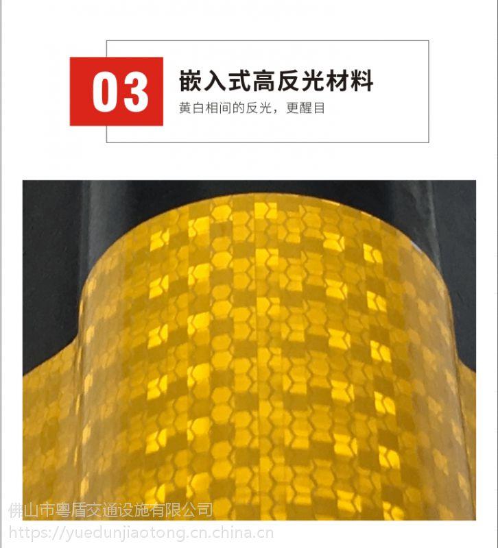 广东佛山厂家粤盾交通圆角橡胶护墙角防撞条防撞护角(图5)