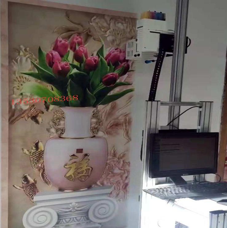 深圳厂家3d墙画机广告喷绘机
