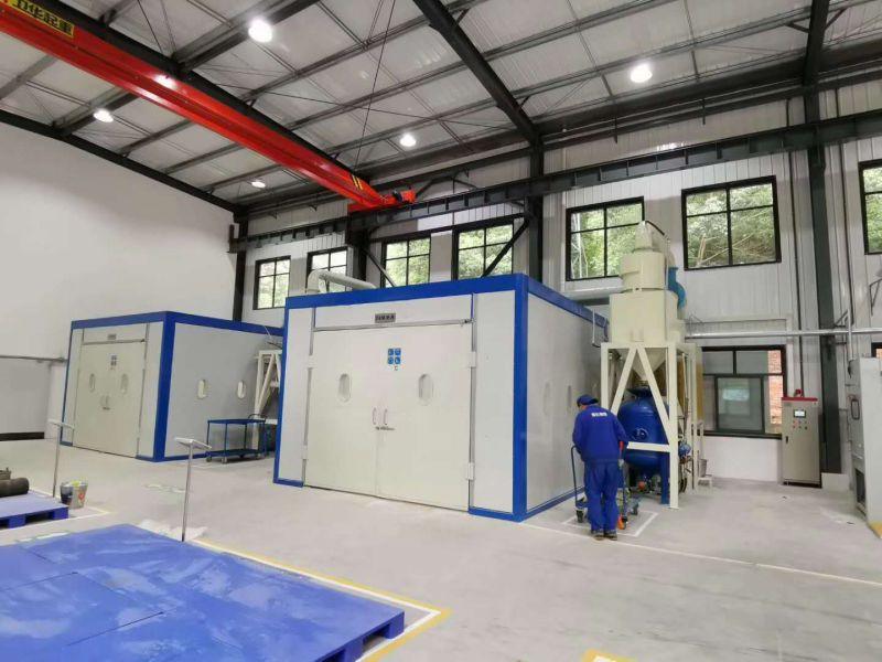 天津西门子电气传动有限公司喷砂房样板