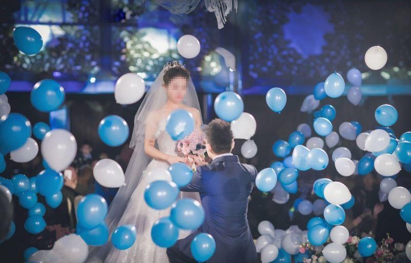 金九银十,南宁专业婚礼爆破气球|地爆球|空中爆球火爆全城