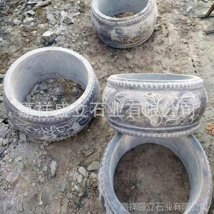 厂家批发各式石材石雕柱础 加工柱墩 柱基石 柱子包边石直销