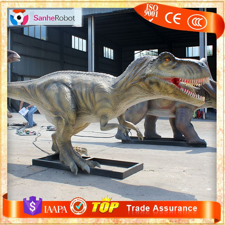 仿真霸王龙模型  硅胶恐龙