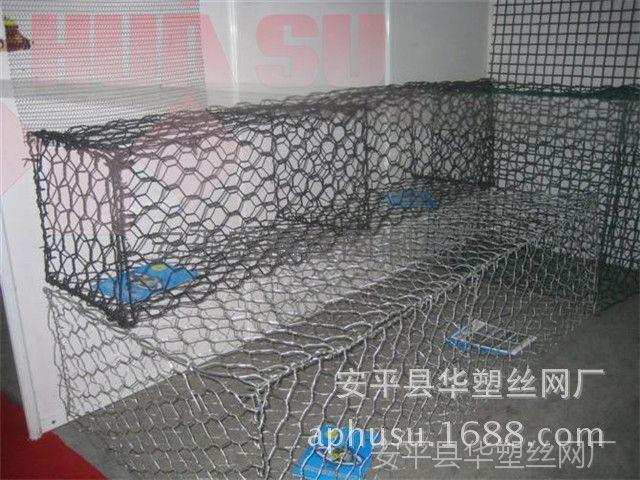 【加工定做】涂塑石笼、石笼网箱、|格宾网