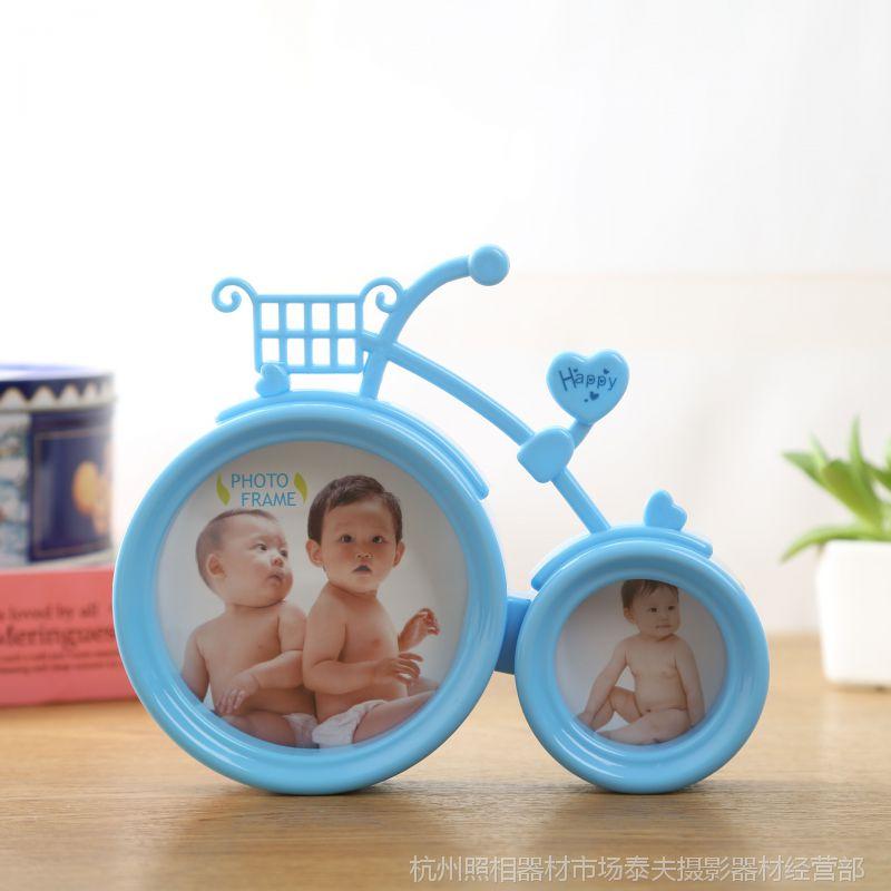 厂家直销 创意个性单车相框 自行车相框影楼摆台6寸3寸大头贴相框