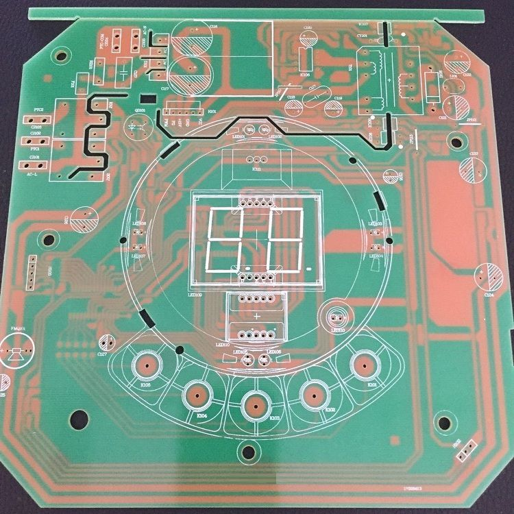 FR-4单面板客样细节展示
