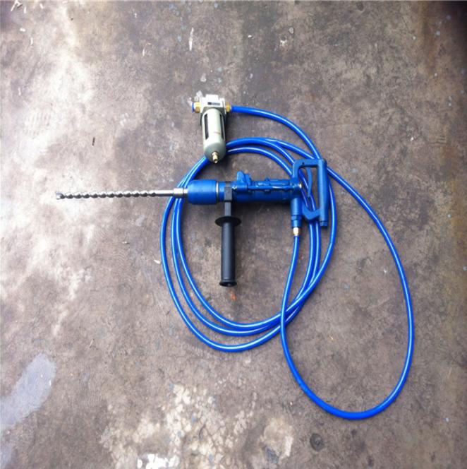 QCZ-1气动手持式冲击钻 Y5手持式凿岩机 气动冲击钻钻头