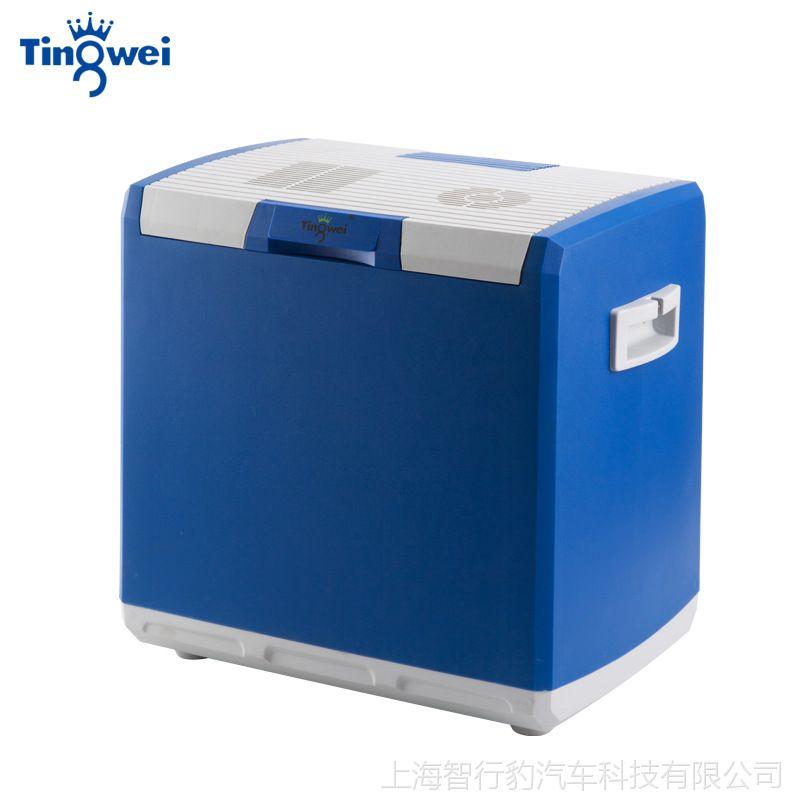 婷微 车载冰箱 车家两用 微型迷你小冰柜 母乳胰岛素制冷冷藏 30L