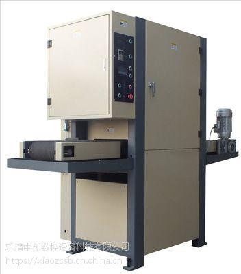 温州供应覆膜通信铝板产品去毛刺机中创设备
