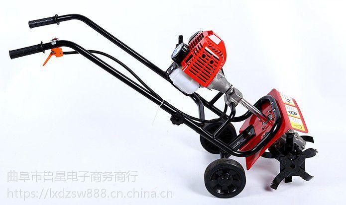 韶关手推式二冲程松土机 多用型旋耕翻土机工厂