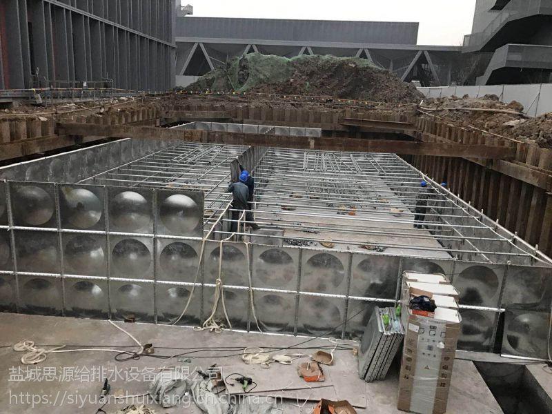 BDF智能型抗浮式地埋箱泵一体化水箱的特点