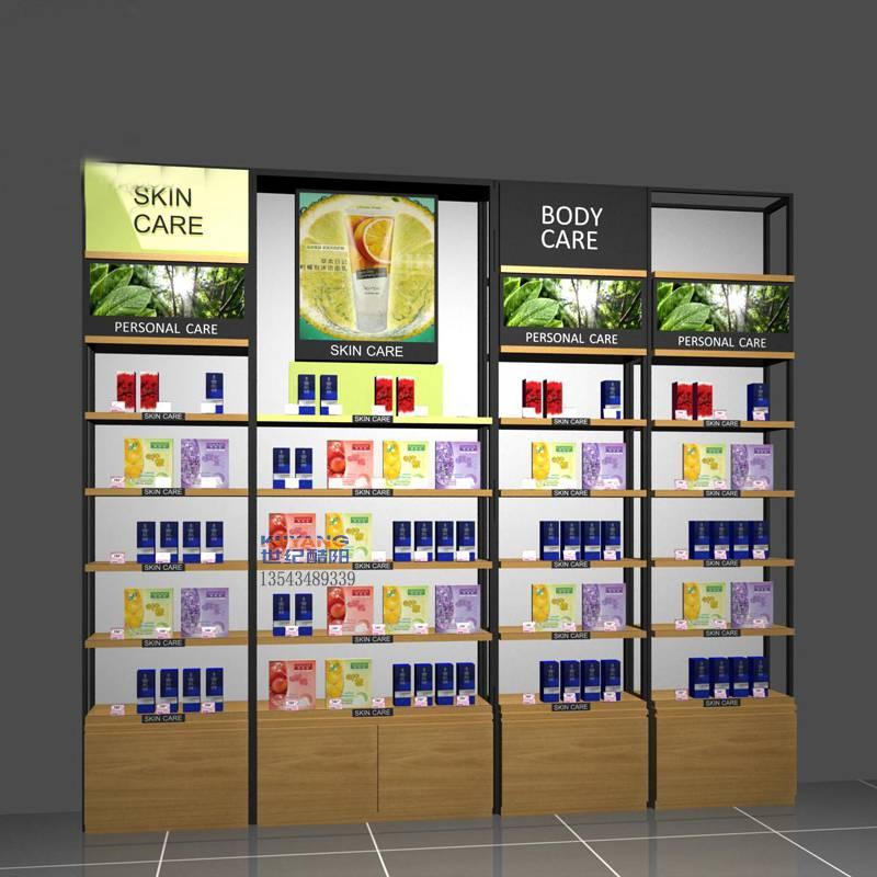 化妆品店柜台装修设计化妆品展示柜陈列定制怎么样用cad做装修设计图片