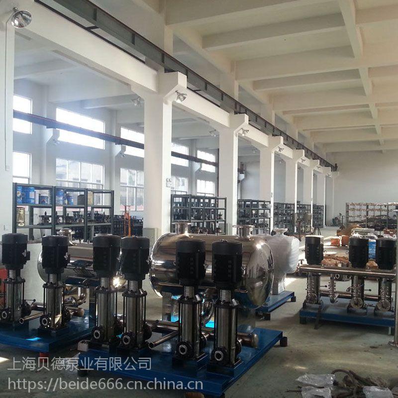定制XBWP100/2-8/2-0.6无负压生活(消防)变频恒压给水设备,稳流罐节能环保上海厂家