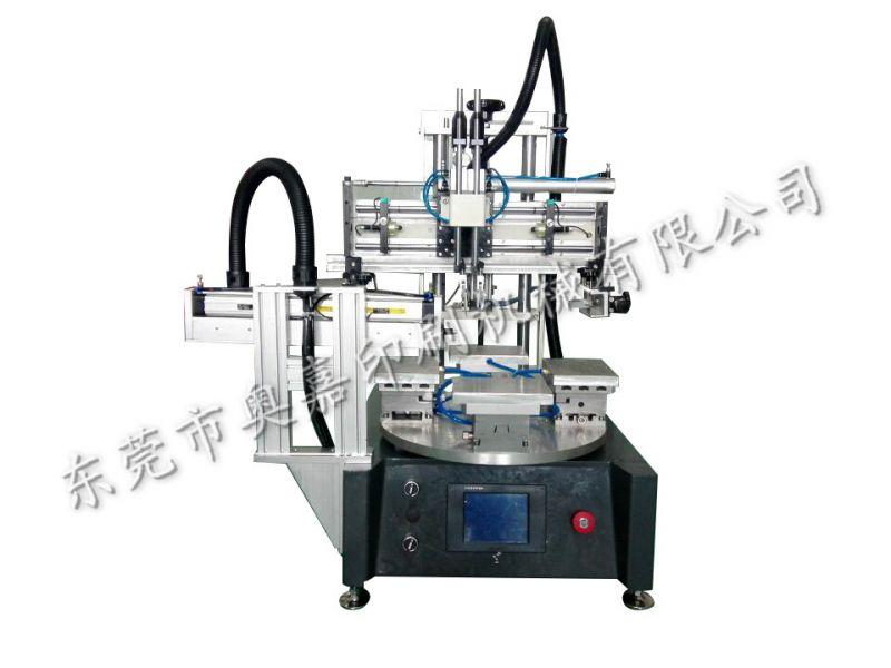 小型转盘丝印机,小产品印刷