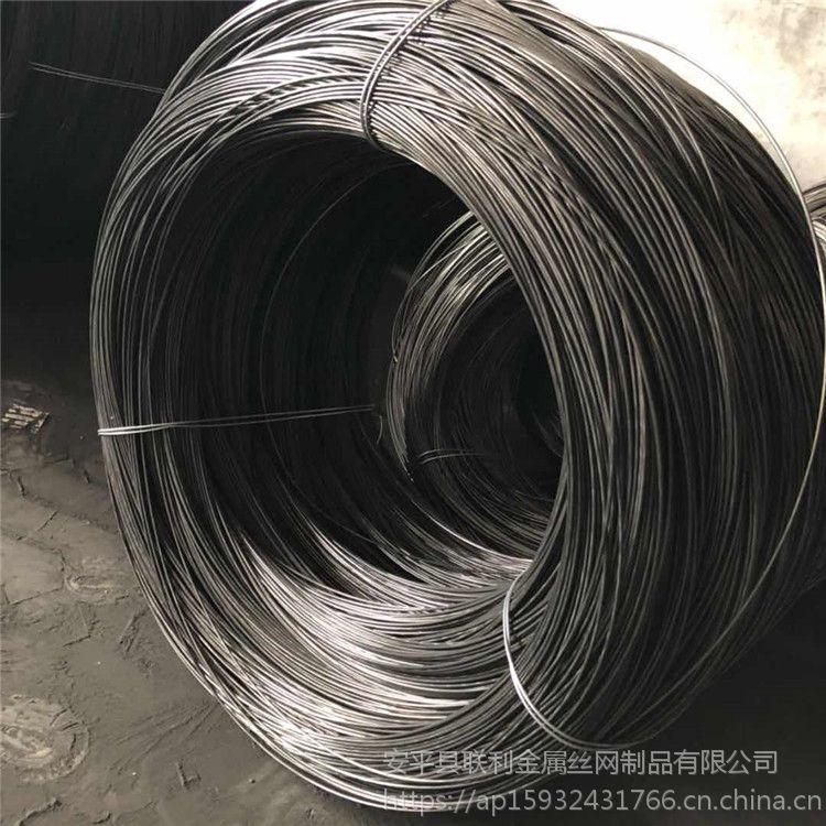 联利现货冷拔黑铁丝 镀锌打捆丝 圆形低碳钢丝