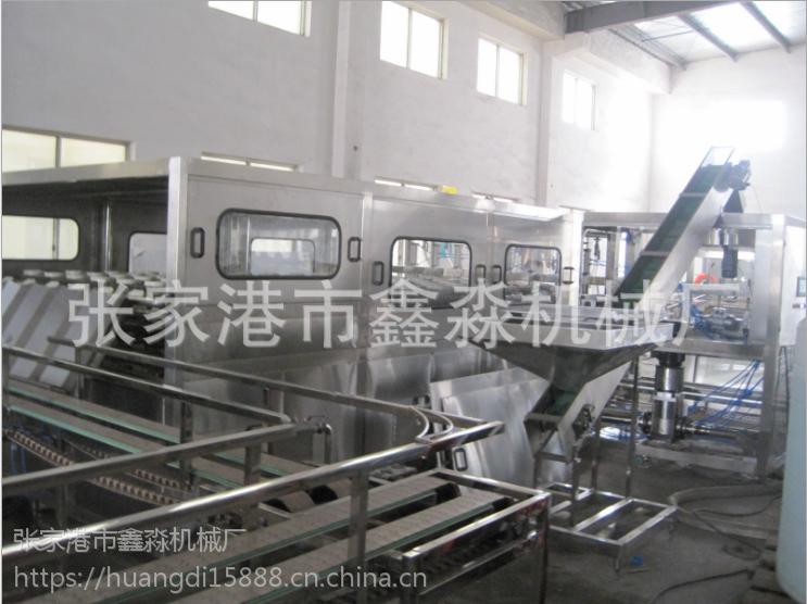 供应5加仑桶装水设备 5加仑桶装水生产线 5加仑桶装水灌装生产线