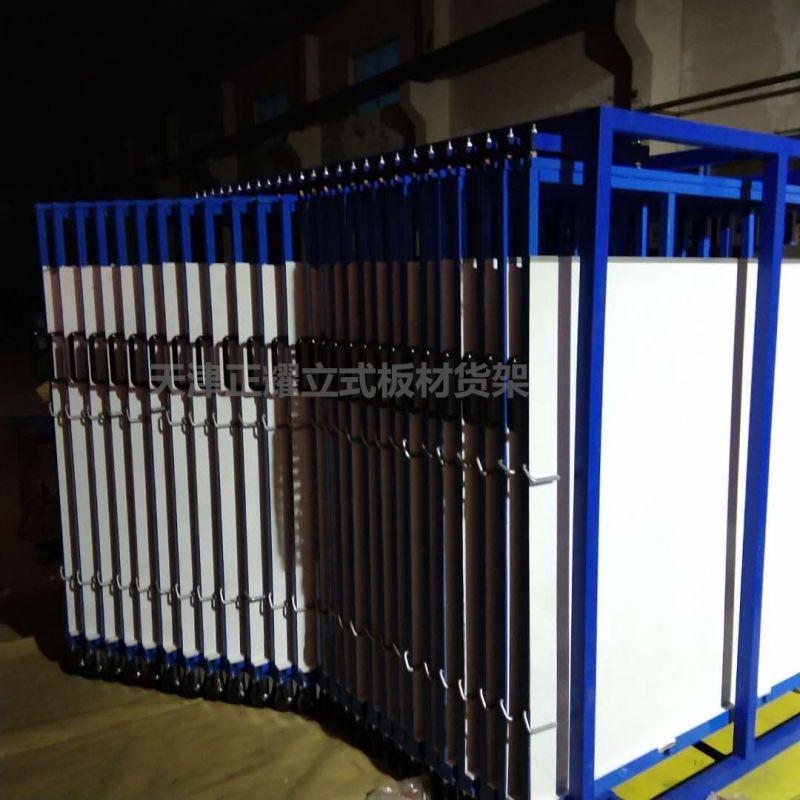 立式板材货架安装调试 包装发货 操作方便