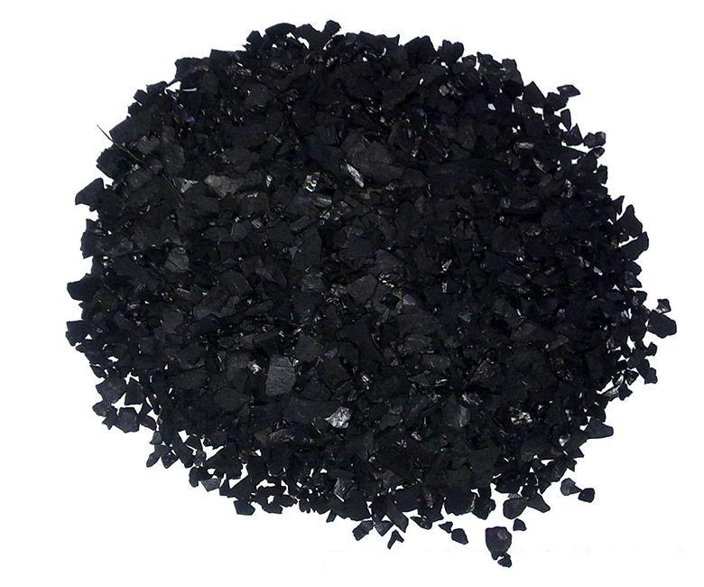 厂家供应优质椰壳活性炭滤料 环保活性炭块 水池水处理专用