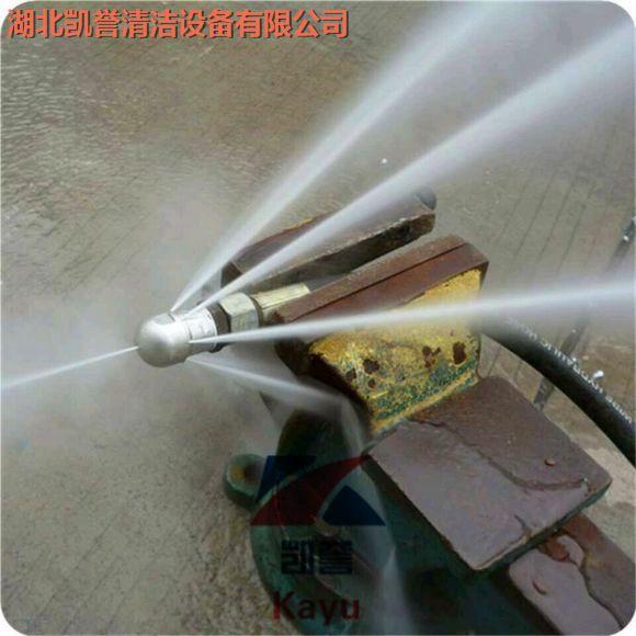 500mm下水道高压管道疏通清洗机视频效果