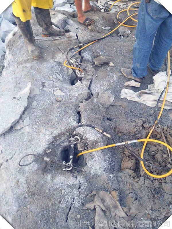 青海竖井开挖专用设备愚公斧液压劈裂机